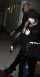 Khloe Kardashian - At LAX Airport 3/5/13