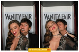 Miranda Kerr - Vanity Fair Photo Booth 2013