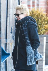 Michelle Williams - out and about in NY 3/9/13
