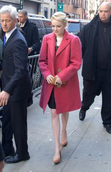 Emma Stone as she leaves The Croods premiere