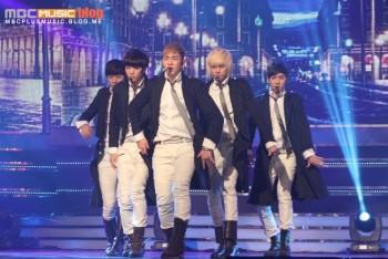 [Pics] NU'EST no Music Show! Champion 0ea3e7242873405