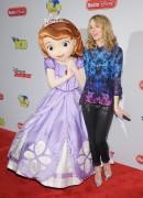 Bridgit Mendler - Disney Channel Kids Upfront in NYC 3/12/13