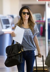 Audrina Patridge - at LAX Airport 3/13/13