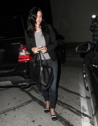 Courteney Cox - at Craig's restaurant in West Hollywood 3/14/13