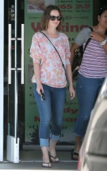 Leighton Meester - out and about in Encino 3/16/13