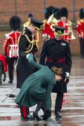 Catherine, Duchess of Cambridge - visits Aldershot Barracks on St. Patrick's Day in Aldershot, England 3/17/13
