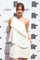 Barbara Palvin - L'Oreal Melbourne Fashion Festival in Melbourne, Australia 3/18/13