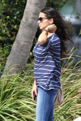 Adriana Lima - out in Miami 3/18/13