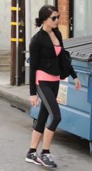 Ashley Greene - at the gym in Studio City 3/20/13