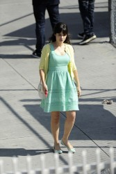 Zooey Deschanel - on the set of 'New Girl' in LA 3/22/13
