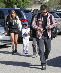 LeAnn Rimes - at her stepson's baseball game in LA 3/23/13