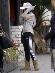 Vanessa Hudgens - at Pilates class in LA 3/24/13