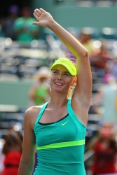 Maria Sharapova - 2013 Sony Open Day 7 in Key Biscayne 3/24/13