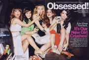 Nasim Pedrad, Aidy Bryant, Kate McKinnon, Vanessa Bayer, Cecily Strong scans from Glamour April 2013