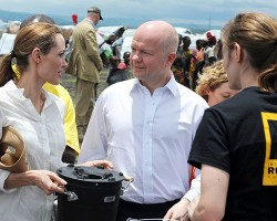 Angelina Jolie - visits the Congo 3/25/13
