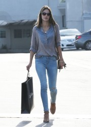 Alessandra Ambrosio - out in West Hollywood 3/26/13