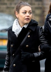 Mila Kunis - out in London 3/31/13