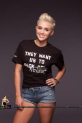 Miley Cyrus - Rock The Vote Photoshoot