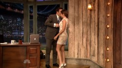 Ashley Tisdale - Late Night with Jimmy Fallon -  4/10/13