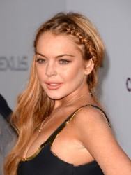 Lindsay Lohan - Scary Movie 5 Premiere in Hollywood 4/11/13