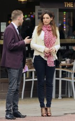 Kelly Brook - out in London 4/15/13