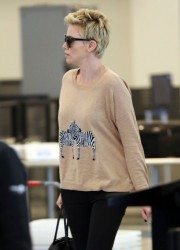 Charlize Theron - At LAX Airport 4/17/13