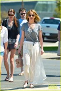 Jennifer Lawrence - Sunday Brunch with friends in LA (April 21st, 2013)