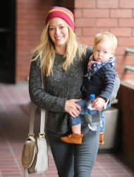 Hilary Duff - Taking her son to baby class in Sherman Oaks 4/24/13