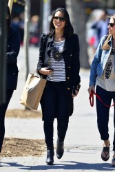 Olivia Munn - out in NYC 4/26/13