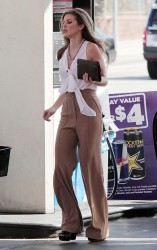 AnnaLynne McCord - at a gas station in LA 4/30/13
