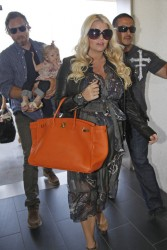 Jessica Simpson - At LAX Airport 5/3/13