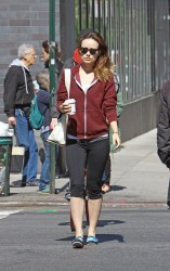Olivia Wilde - out in NYC 5/3/13