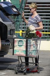 Charlize Theron - at Whole Foods in West Hollywood 5/3/13