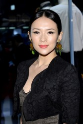 Ziyi Zhang - Dolce&Gabbana 5th Avenue Flagship Boutique opening in NYC 5/4/13