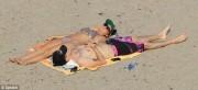 Ashley Tisdale Wearing a Bikini at Malibu Beach - May 3, 2013