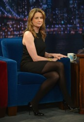 Jenna Fischer - visits Late Night with Jimmy Fallon in NYC 5/6/13