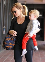 Hilary Duff - Taking her son to baby class in Sherman Oaks 5/8/13