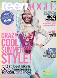 Nicki Minaj - Teen Vouge June/July 2013