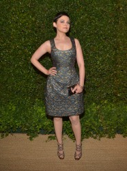 Ginnifer Goodwin - Vogue & MAC Cosmetics dinner in LA 5/13/13