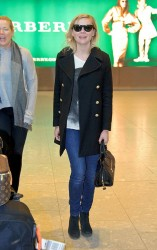 Kirsten Dunst - at Heathrow Airport in London 5/13/13
