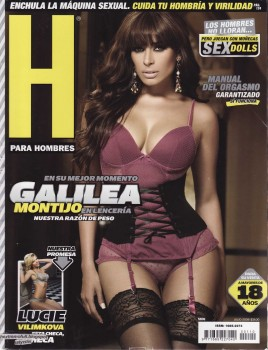Galilea Montijo Revista H - Julio 2008
