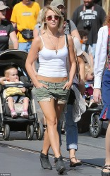 Julianne Hough - out in Disneyland 5/16/13