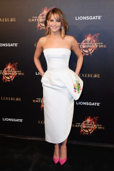 Jennifer Lawrence The Hunger Games Catching Fire Party 9