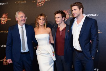 Jennifer Lawrence The Hunger Games Catching Fire Party 20