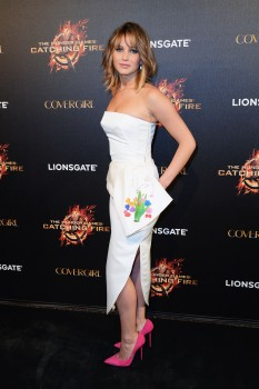 Jennifer Lawrence The Hunger Games Catching Fire Party 10