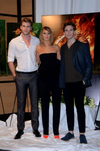 Jennifer Lawrence The Hunger Games Catching Fire Photocall 29