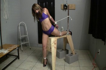 Gagged, Tied and Groped for His Pleasure