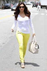Eva Longoria - leaves the salon in West Hollywood 5/22/13