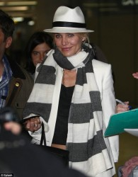 Cameron Diaz - at Nice Airport 5/25/13