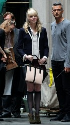 Emma Stone - on the set of 'The Amazing Spider-Man 2' in NYC 5/29/13